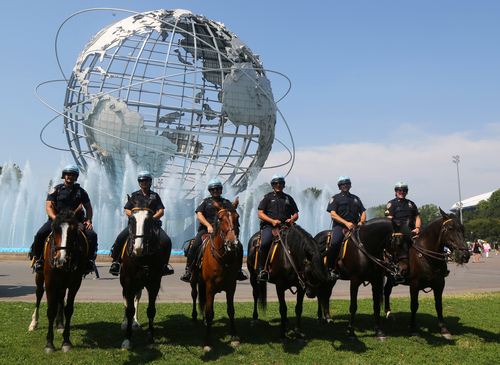 On Duty Officers on Horses