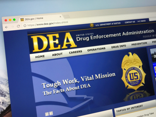 Drug Enforcement Administration Website