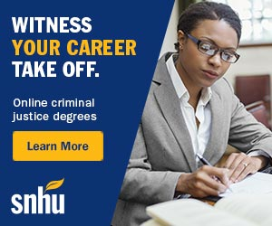 Witness Your Career Take Off. SNHU - Online Criminal Justice Degrees.
