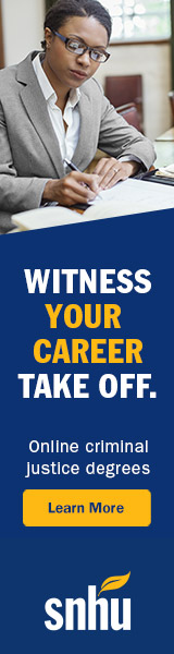 Witness Your Career Take Off. SNHU Criminal Justice Degrees.