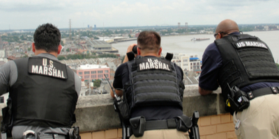 U.S. marshal on duty